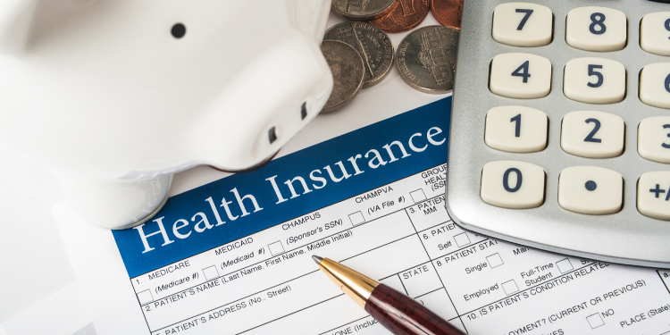 health insurance application and calculator to determine costs